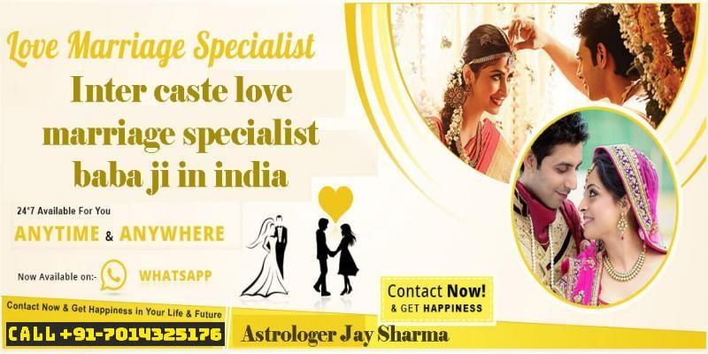 Inter caste love marriage specialist baba ji in India  family